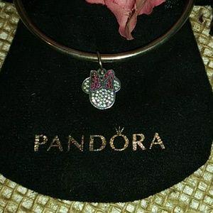 Pandora's Disney Retired Sparkling Minnie Icon